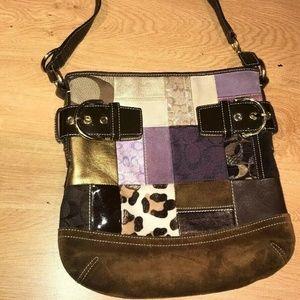Coach Limited Edition 3573 Brown Crossbody Bag